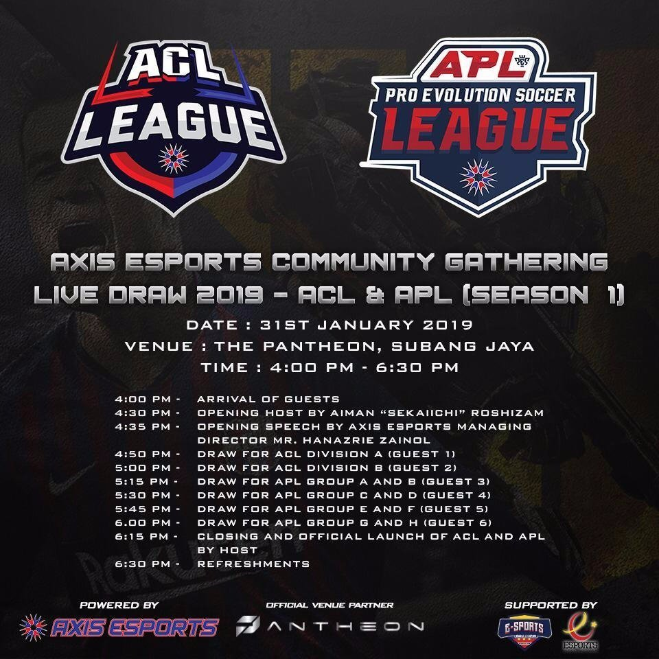 Axis Esports League is Coming This Month!