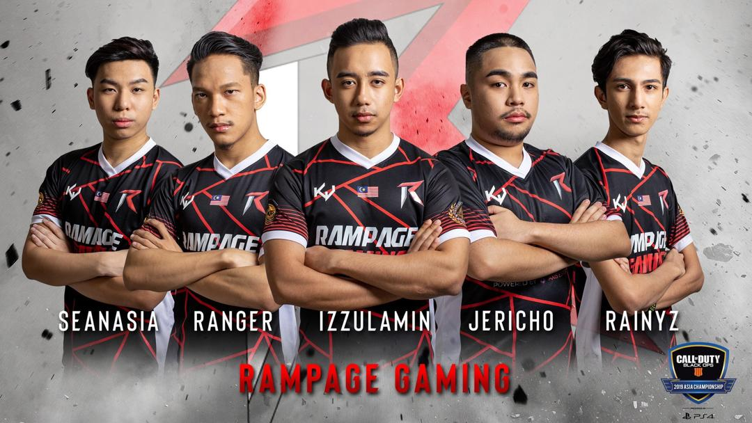 RAMPAGE: BACK TO BACK CHAMPIONS!!! 2X ASIA CHAMPIONSHIP