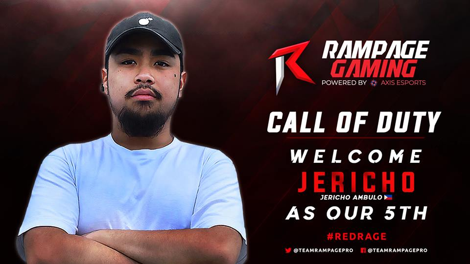 RamPaGe Gaming Finally found their 5th player!