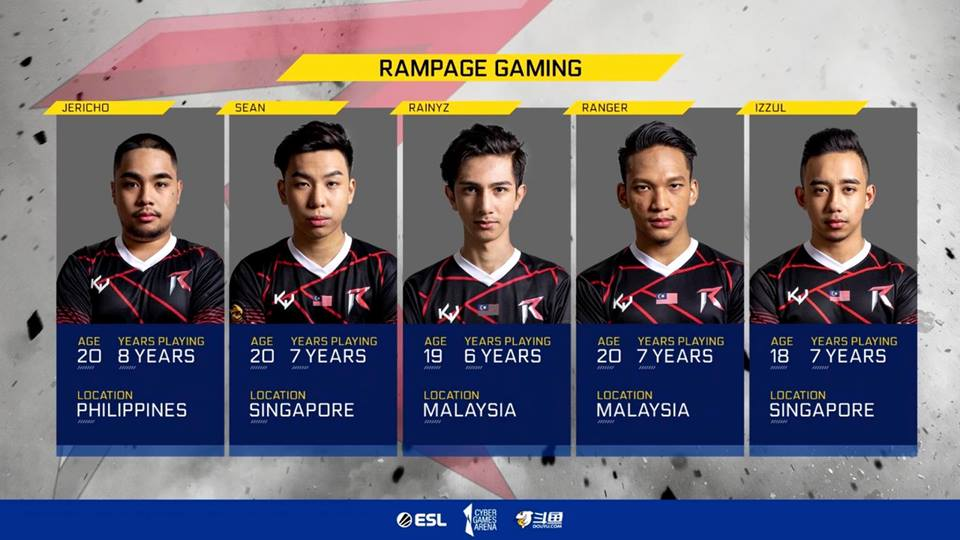 RAMPAGE: BACK TO BACK CHAMPIONS!!! 2X ASIA CHAMPIONSHIP 2