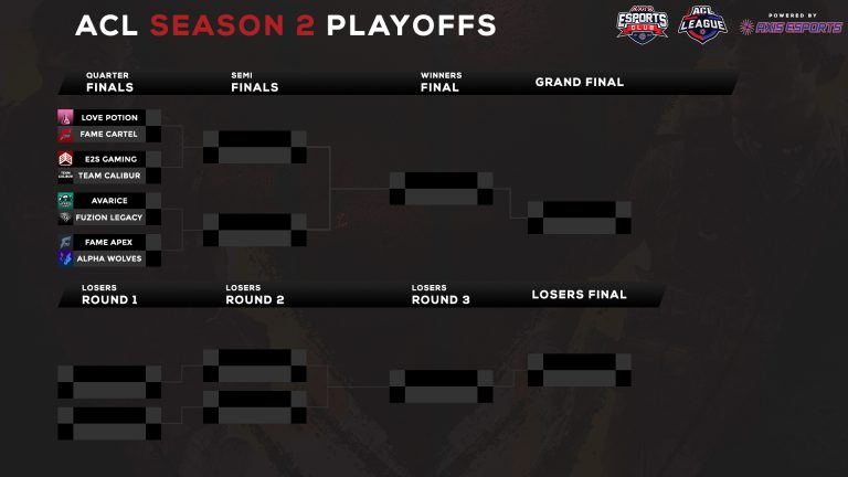 ACL Season 2 Road to The Final ! 1