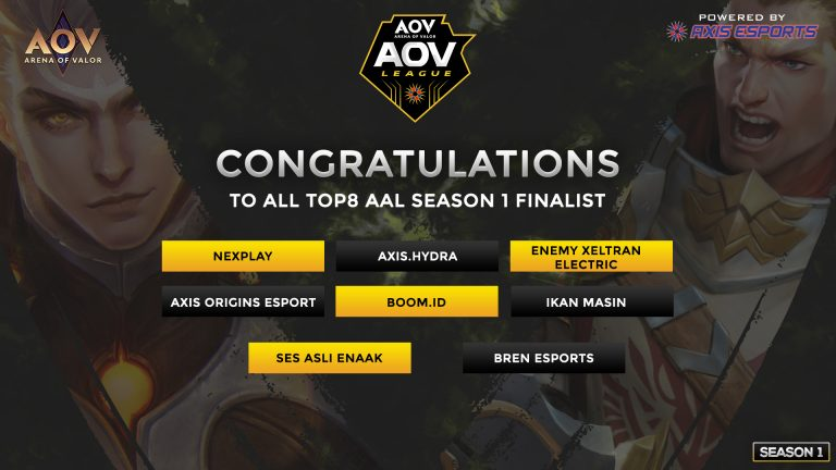 AAL Season 1 - Road to The Finals 2