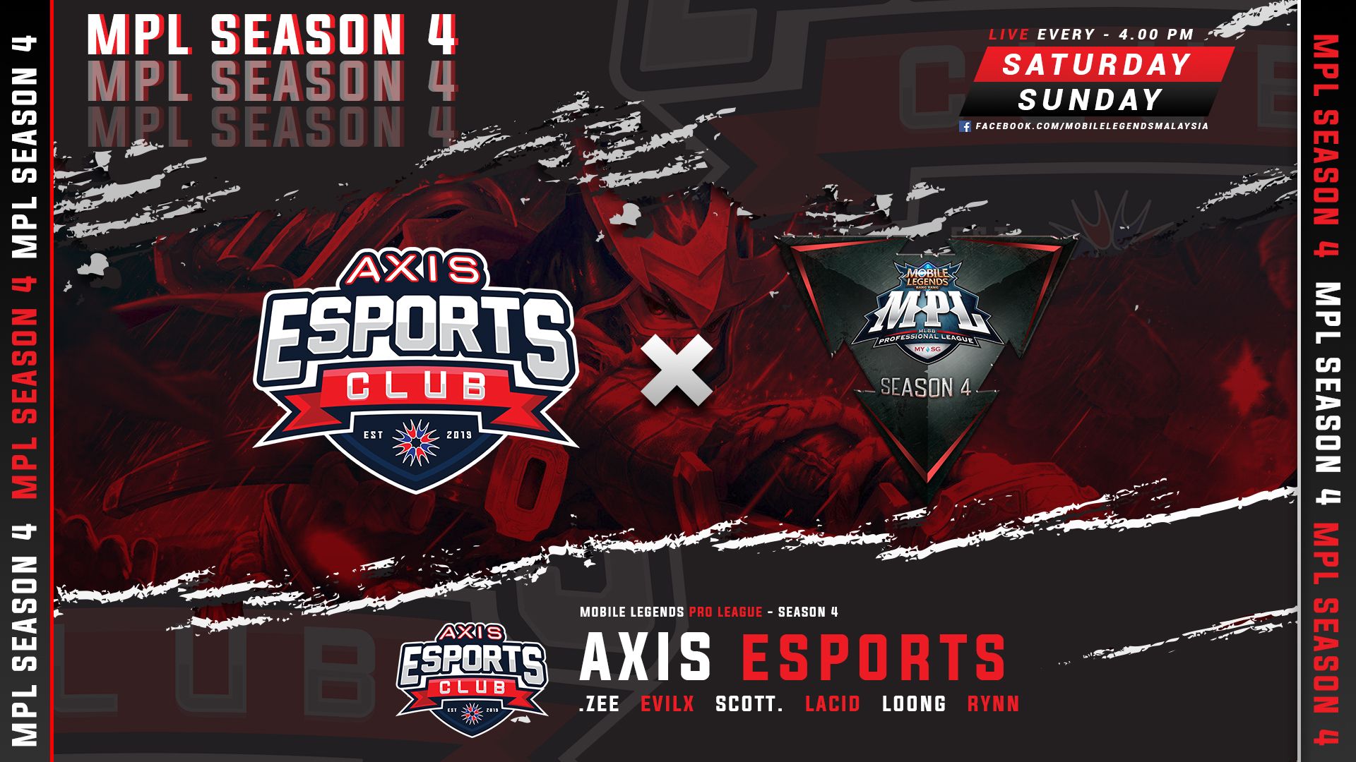 AXIS ESPORTS' MPL JOURNEY STARTS TOMORROW!!