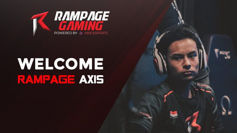 AX1S JOINS AXIS' RAMPAGE GAMING FOR AXIS ESPORTS FINALS 1