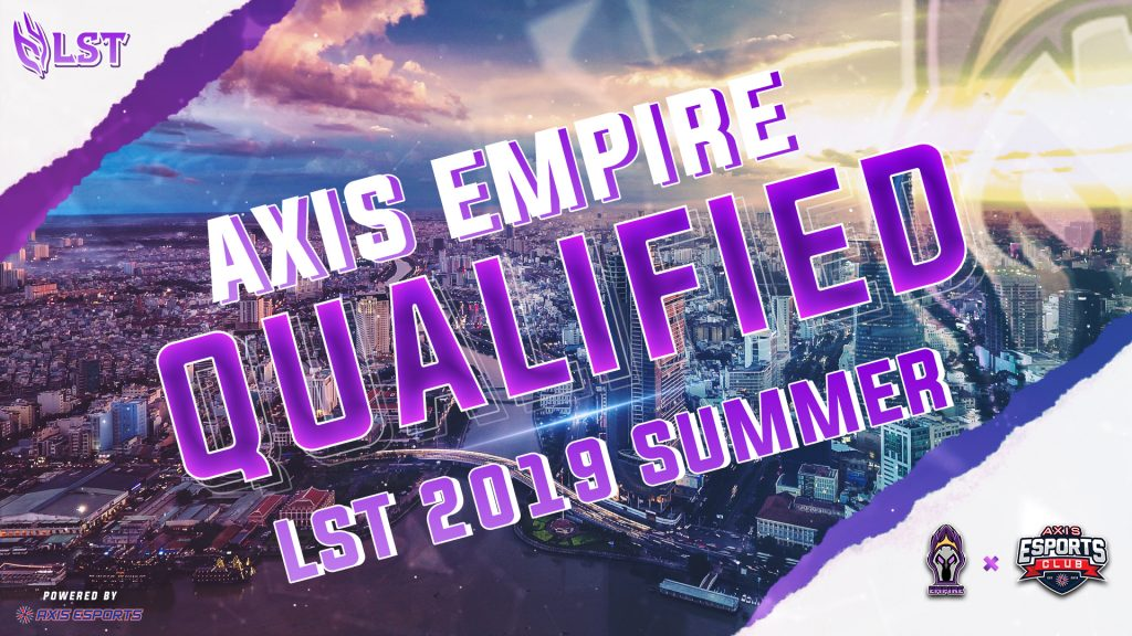 AXIS EMPIRE TO BATTLE FOR LOL SUPREMACY 1